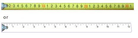 Gratifying image pertaining to printable tape measure