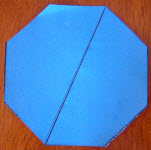 how to draw an octagon from a circle