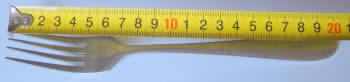 20cm fork