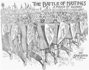 Sam Loyd's Battle of Hastings Puzzle